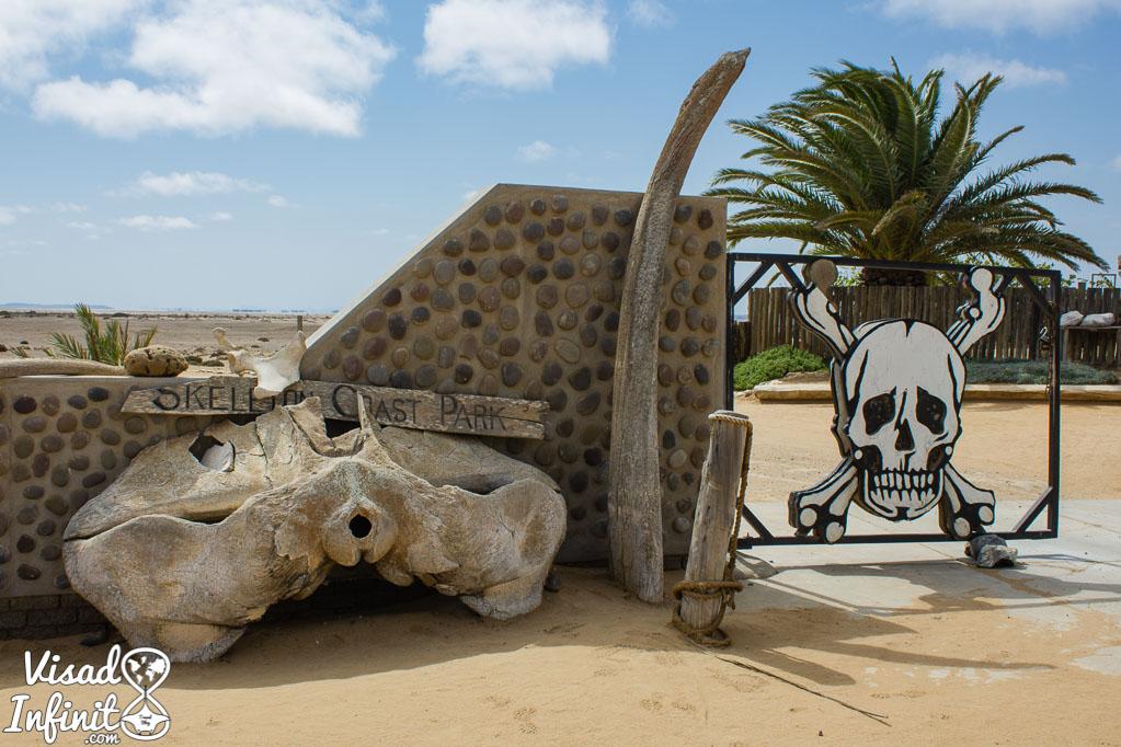 Entrada P.N. Costa de los Esqueletos