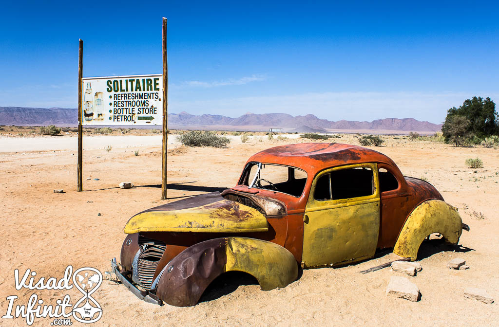 Foto de Solitaire para viajar a Namibia