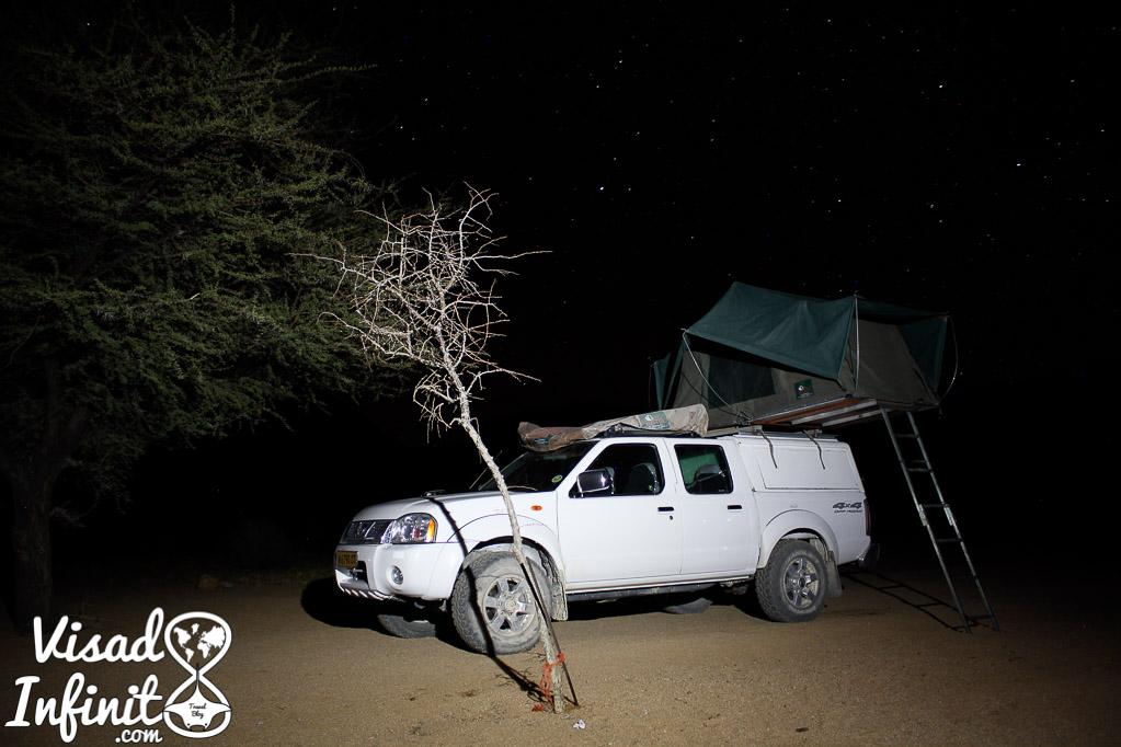 foto del coche ideal para viajar a Namibia