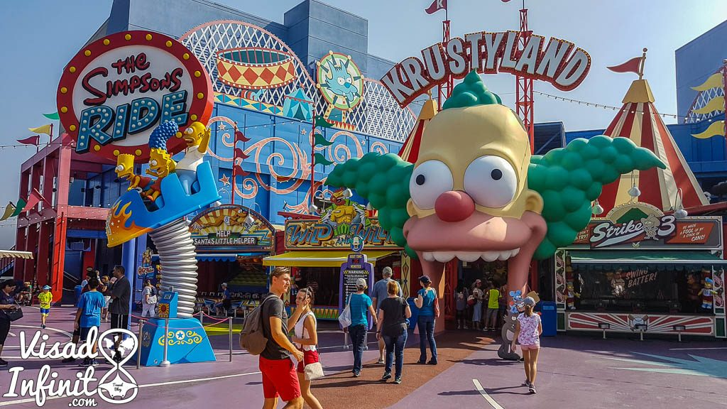 Universal Studios Hollywood - Krustylandia