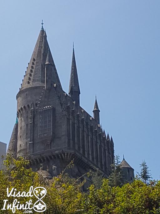 Universal Studios Hollywood - Castillo de Hogwarts
