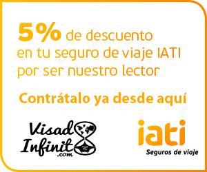 Opiniones seguro viajes IATI - Descuento 5% seguro viaje IATI - Visado Infinito