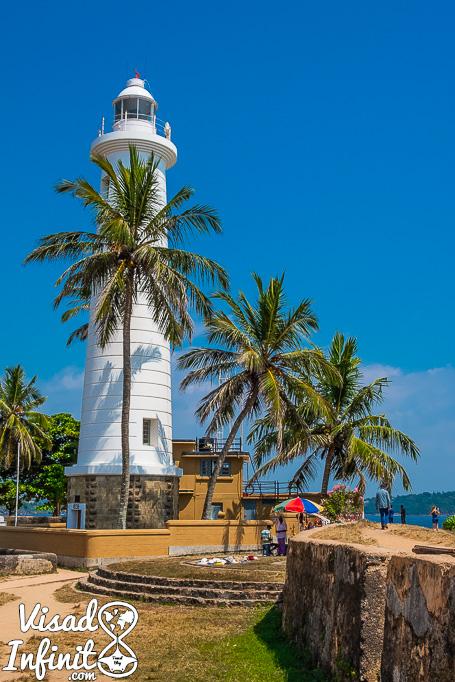 Faro de Galle, Sri Lanka.