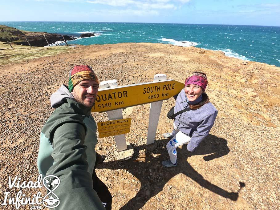 día a día en Nueva Zelanda - Punta Slope