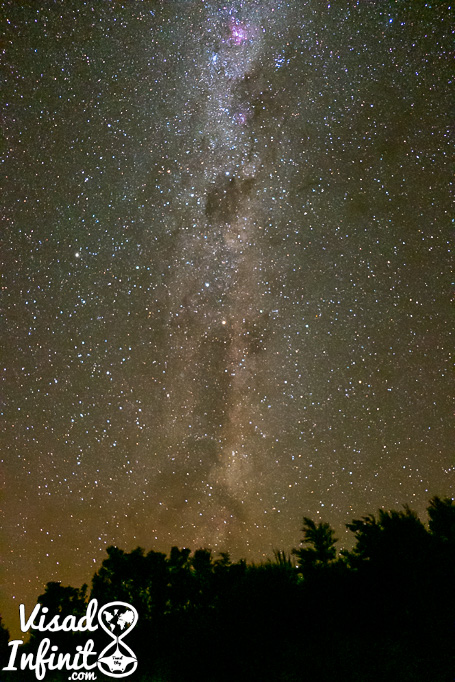 Vía Láctea en Tongariro