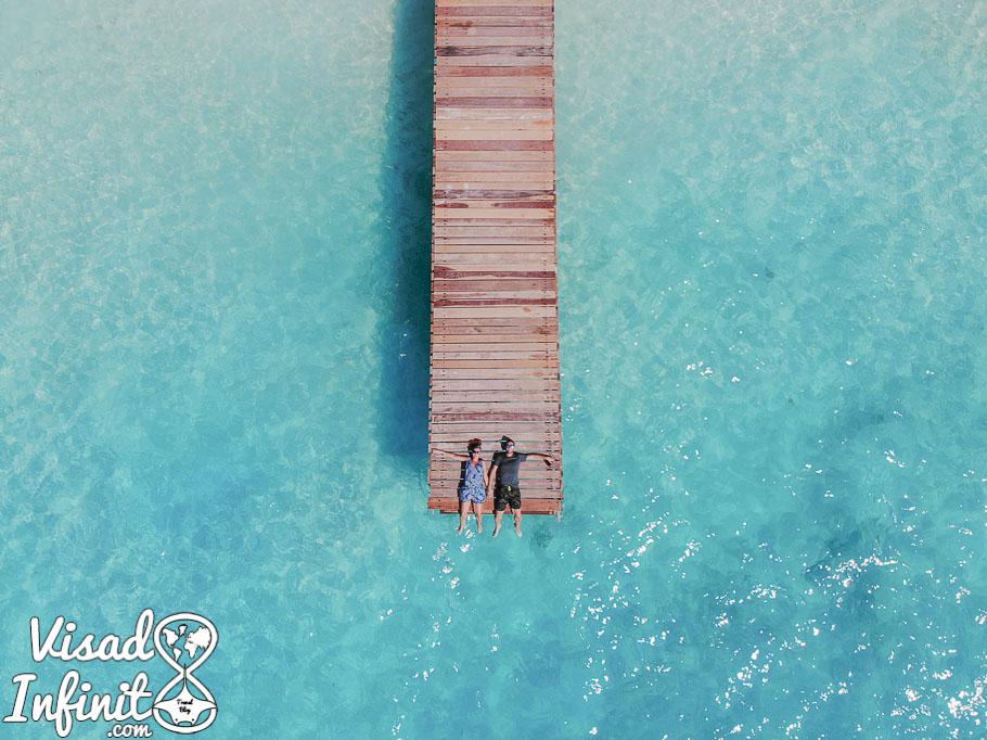 Muelle Fulidhoo Maldivas