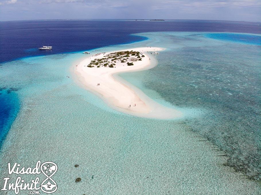 Sandbank - Maldivas